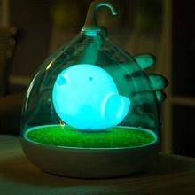 Signstek LED Nachtlicht Sensor Vögelkäfig USB blau Bild 1