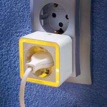 REV Ritter Nachtlicht LED Mini-Adapter weiß Bild 1