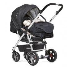 Gesslein Kombikinderwagen F4 Air Plus Baby denim beige Bild 1
