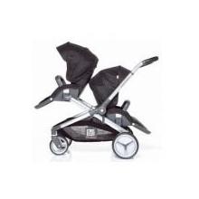 RedCastle Zwillingskinderwagen Evolutwin schwarz Bild 1
