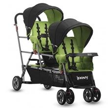Joovy Zwillingskinderwagen Big Caboose grün Bild 1