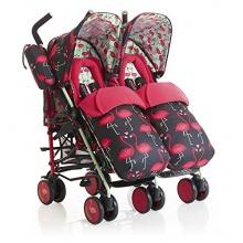 Cosatto Supa Dupa Zwillingskinderwagen Flamingo Fling Bild 1