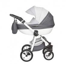 Magico Mundo Luxus Kinderwagen Moretti grau silber Bild 1