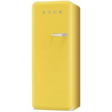 Smeg Standkühlschrank A++ 248 L Gelb  Bild 1