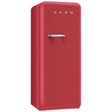 Smeg Standkühlschrank A+ 256 L Rot Retro  Bild 1