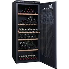 Climadiff A+ Weinkühlschrank 294 Flaschen schwarz Bild 1