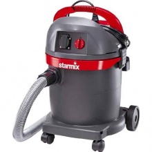 Starmix Nasssauger 1400 Watt 20 L grau rot Bild 1