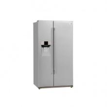 Daewoo Kühlschrank A++ 353 L Kühlteil metalldekor Bild 1