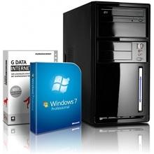 shinobee Office PC 4x2.41 GHz 4GB RAM 320GB HDD Bild 1