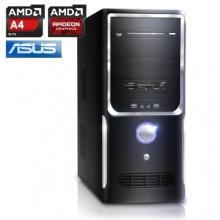 CSL Office PC AMD 2x 3400MHz 4GB RAM 500GB HDD Bild 1