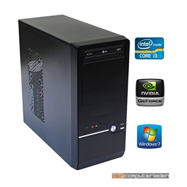 dercomputerladen Office PC 2x3,4GHz 16GB RAM 1TB HDD Bild 1