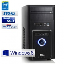 CSL Office PC 4x3.5GHz 8 GB RAM 120 GB 4TB HDD Bild 1