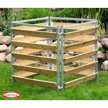 Komposter Holz / Metall Bild 1