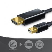 CSL DisplayPort Kabel HDMI 5m Full HD schwarz Bild 1