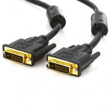 deleyCON DVI zu DVI Kabel vergoldete Kontakte 1,5m  Bild 1