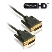 PerfectHD DVI Kabel Dual-Link DVI Stecker DVI Stecker Bild 1