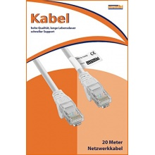 Mumbi Ethernet Kabel Cat 5e Twisted Pair 20m Bild 1