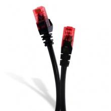 CSL Ethernet Kabel CAT.6 1m schwarz Bild 1