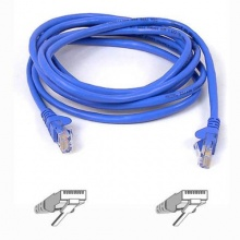 Belkin Ethernet Kabel CAT5e 1m blau Bild 1