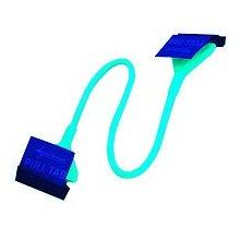 Sharkoon FDD Kabel 0.45 m Rundkabel blau Bild 1