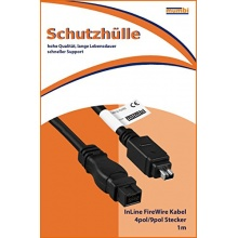 mumbi FireWire Kabel 4pol/9pol Stecker Stecker 1m Bild 1