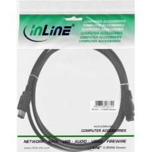 Intos Firewire Kabel 9 pin/6 pin 1.8 m Bild 1