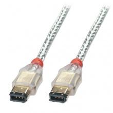 Lindy FireWire Kabel 6 Pol/6 Pol-Stecker 2m Bild 1