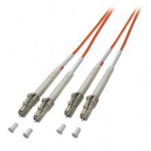 Lindy LWL-Kabel Glasfaserkabel LC auf LC  2m Bild 1