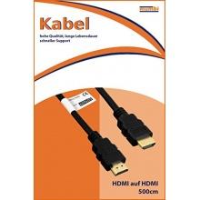 mumbi HDMI Kabel 1080p Full HD vergoldete Kontakte 5m Bild 1