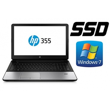 Notebook HP 355, 128GB SSD + 1000GB, 8GB RAM, 39cm  Bild 1