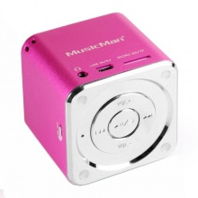 MusicMan Mini Soundstation pink Bild 1