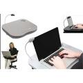 Lapdesk mit LED-Licht und Becherhalter  Bild 1