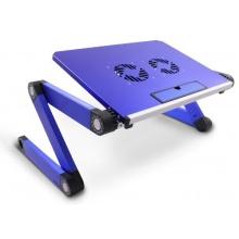 Lavolta Lapdesk Aluminium Ausklappbare Ebenen Blau Bild 1