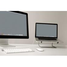 Laptopständer simply Edelstahl Bild 1