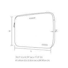 Kamor® 15 15.6 16 17 zoll Notebook Tasche Bild 1