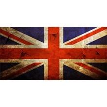 Flagge Vereinigtes Königreich Skin-Aufkleber Laptop Bild 1