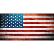 Flagge USA Sticker Laptop  Bild 1
