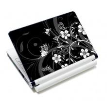 wortek®  Skin Aufkleber Schmetterling Schwarz Weiß Bild 1