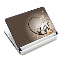 wortek® Universal Notebook Skin Ranke Braun Bild 1