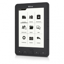 TrekStor eBook Reader Pyrus 15,2 cm 6 Zoll schwarz Bild 1