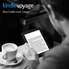 Kindle Voyager 3G 15,2 cm 6 Zoll eBook Reader  Bild 1