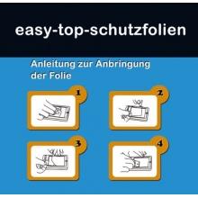 6x easy-top-schutzfolien Ultra Clear Standard Bild 1
