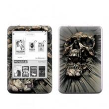 Tolino Shine Skin Ebook Reader Vinyl skull Wrap Bild 1