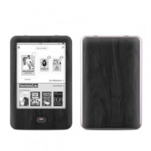 Tolino Shine Skin Ebook Reader Holz Black Woograin Bild 1