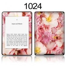 TaylorHe Skin Sticker für Kindle Blumen Blüten rosa Bild 1