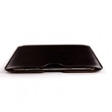 Leder Sleeve für Samsung Galaxy Tab Dunkelbraun Bild 1