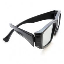 4er SET 3D Brille schwarz Marke Ganzoo Bild 1