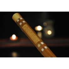Exquisit Ebenholz Flöte Chinesische Shakuhachi Bild 1