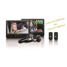 Lenco DVP 939 2x 9 Zoll DVD Player mit Bildschirm Bild 1