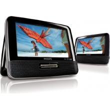 Philips PD7022 12 Tragbarer DVD Player schwarz Bild 1